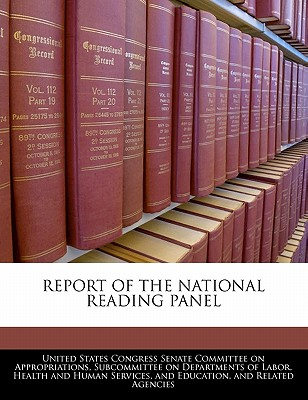 Report of the National Reading Panel - United States Congress Senate Committee (Creator)