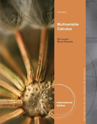Multivariable Calculus - Larson, Ron, and Edwards, Bruce