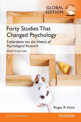Forty Studies That Changed Psychology - Hock, Roger R.