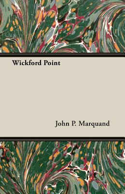 Wickford Point - Marquand, John Phillips