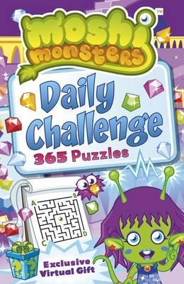 Moshi Monsters: Daily Challenge Puzzle Book: 365 Puzzles - Tesla, Tamara
