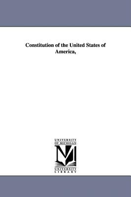 Constitution of the United States of America, - United States Congress