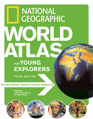 National Geographic World Atlas for Young Explorers - National Geographic (Creator)