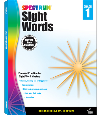 Spectrum Sight Words, Grade 1 - Spectrum (Compiled by)