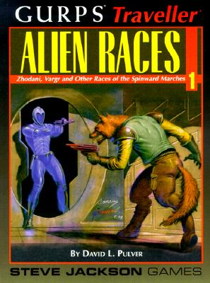 Gurps Traveller Alien Races 1: Zhodani, Vargr and Other Races of the Spinward Marches - Pulver, David L, and Wiseman, Loren K (Editor), and Miller, Marc (Creator)