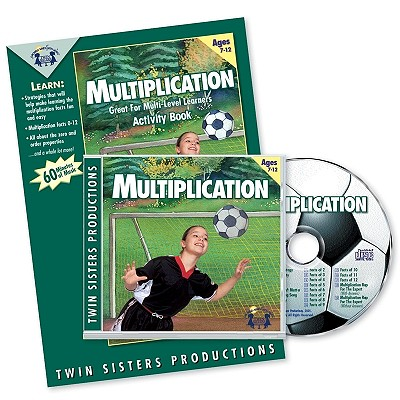 Multiplication Music CD & Activity Book Set - Twin Sisters (Producer)