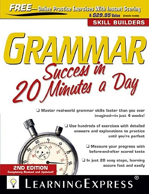 Grammar Success in 20 Minutes a Day - Learning Express LLC (Creator)