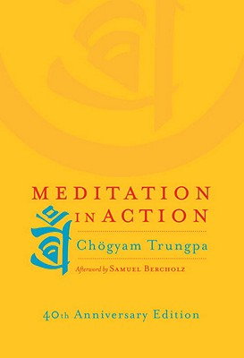 Meditation in Action - Trungpa, Chogyam, and Bercholz, Sam (Afterword by)