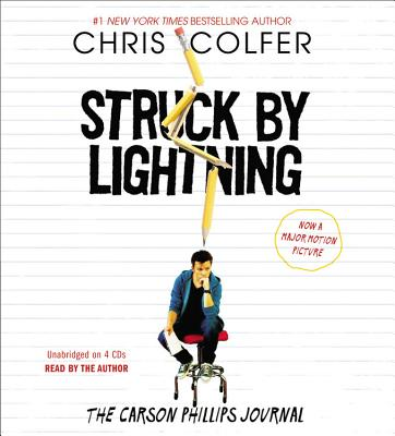 Struck by Lightning: The Carson Phillips Journal - Colfer, Chris (Read by)