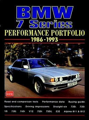 BMW 7 Series 1986-1993 - Clarke, R M (Compiled by)