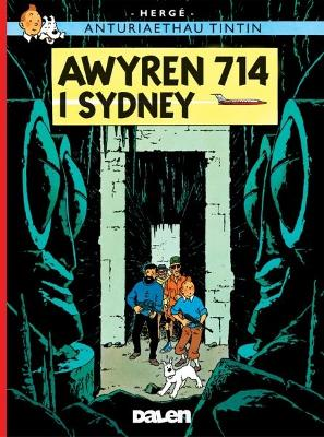 Awyren 714 I Sydney - Herge, and Jones, Dafydd (Translated by)