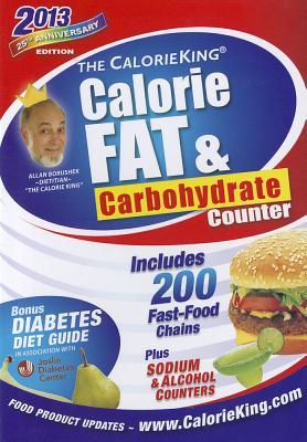 The CalorieKing Calorie, Fat & Carbohydrate Counter - Borushek, Allan