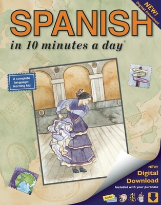 Spanish in 10 Minutes a Day - Kershul, Kristine K, M.A.