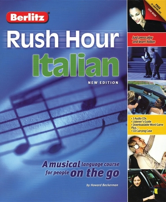 Berlitz Rush Hour Italian - Beckerman, Howard