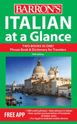 Italian at a Glance: Foreign Language Phrasebook & Dictionary - Costantino, Mario