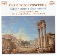 Italian Oboe Concertos, Vol. 2 - Anthony Camden (oboe); City of London Sinfonia; Nicholas Ward (conductor)