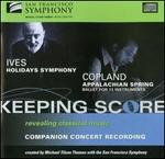 Ives: Holidays Symphony; Copland: Appalachian Spring