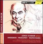 J�nos Starker plays Hindemith, Prokofiev, Rautavaara