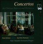 J.F.Schubert, P.v. Winter: Concertos for Clarinet, Bassoon and Orchestra