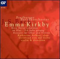 J.S. Bach: Cantatas & Concerto - Emma Kirkby (soprano); Gottfried von der Goltz (violin); Karl Kaiser (flute); Katharina Arfken (oboe);...