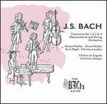 J.S. Bach: Concertos for 1, 2, 3 & 4 Harpsichords and String Orchestra - Anton Heiller (harpsichord); Christa Landon (harpsichord); Erna Heiller (harpsichord); I Solisti di Zagreb;...