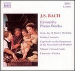 J.S. Bach: Favourite Piano Works