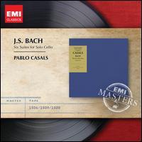 J.S. Bach: Six Suites for Solo Cello - Pablo Casals (cello)