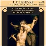 J.X. Lef�vre: Concerto pour clarinette