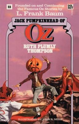Jack Pumpkinhead of Oz - Thompson, Ruth Plumly