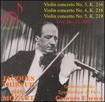 Jacques Thibaud Plays Mozart