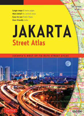 Jakarta Street Atlas - Tuttle Publishing (Creator)