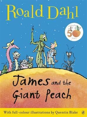 James and the Giant Peach - Dahl, Roald