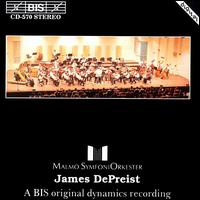 James DePriest - Anton Kontra (violin); Malmö Symphony Orchestra; James DePreist (conductor)