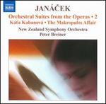 Janácek: Orchestral Suites from the Operas, Vol. 2