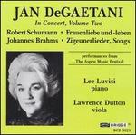 Jan Degaetani In Concert, Volume Two