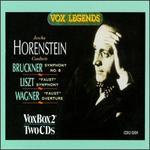 Jascha Horenstein Conducts Bruckner/Liszt/Wagner