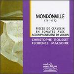 Jean-Joseph Cassane Mondonville: Pieces de Clavecin en Soantes avec Accompagnement de Violon