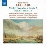 Jean-Marie Leclair: Violin Sonatas, Book 2 Nos. 6-7 and 9-12