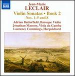 Jean-Marie Leclair: Violin Sonatas, Book 2
