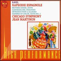 Jean Martinon Conducts Ravel - Clark Brody (clarinet); Donald Peck (flute); Chicago Symphony Orchestra; Jean Martinon (conductor)