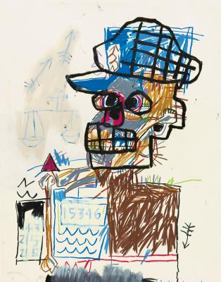 Jean-Michel Basquiat Drawing: Work from the Schorr Family Collection - Hoffman, Fred, and Acquavella Galleries