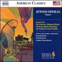 Jewish Operas, Vol. 1 - Carla Wood (mezzo-soprano); Chamber Opera Ensemble; Christopher Meerdink (tenor); Freda Herseth (soprano);...