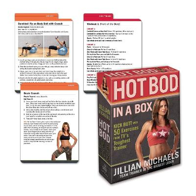 Jillian Michaels Hot Bod in a Box: Kick Butt with 50 Exercises from TV's Toughest Trainer - Michaels, Jillian