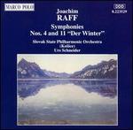"Joachim Raff: Symphonies No. 4 & 11 ""Der Winter"""