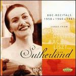 Joan Sutherland: BBC-Recitals 1958, 1960, 1961