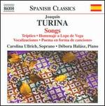 Joaquín Turina: Songs