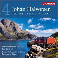 Johan Halvorsen: Orchestral Works, Vol. 4 - Ilze Klava (viola); Melina Mandozzi (violin); Bergen Philharmonic Orchestra; Neeme Järvi (conductor)