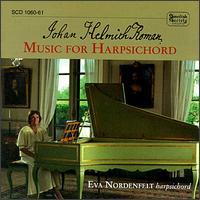 Johan Helmith Roman: Music for Harpsichord - Eva Nordenfelt (harpsichord)