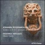 Johan Rosenm�ller: Sonate a 2, 3, 4 � 5 stromenti, da arco & altri