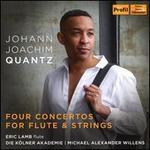 Johann Joachim Quantz: Four Concertos for Flute & Strings
